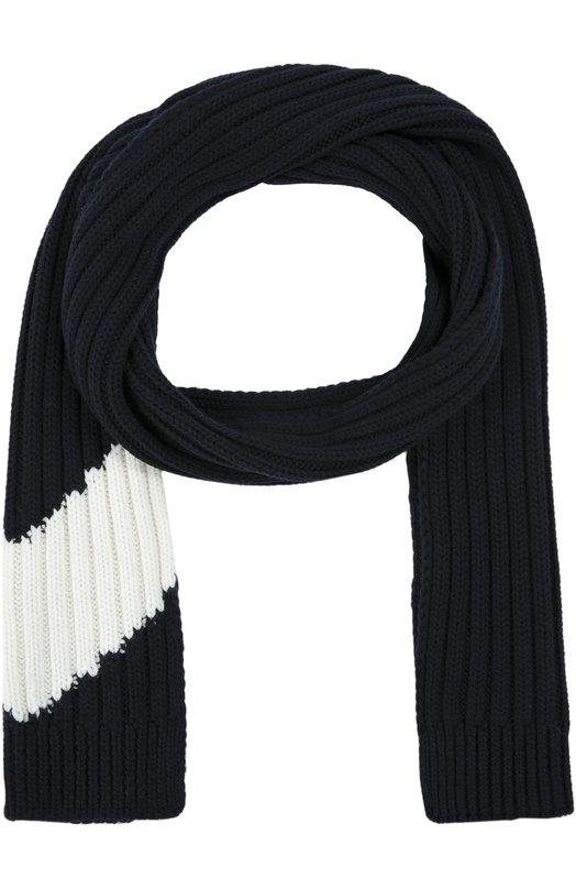 Вязаный шарф из шерсти Moncler B2-391-00042-00-0A008