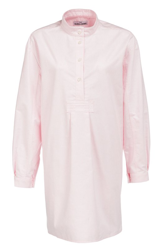 Хлопковая домашняя блуза в полоску The Sleep Shirt 300/0XF0RD STRIPE
