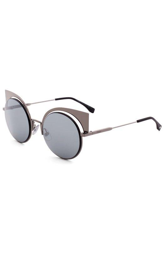 Солнцезащитные очки FendiОчки<br><br><br>Пол: Женский<br>Возраст: Взрослый<br>Размер производителя vendor: NS<br>Цвет: Серый