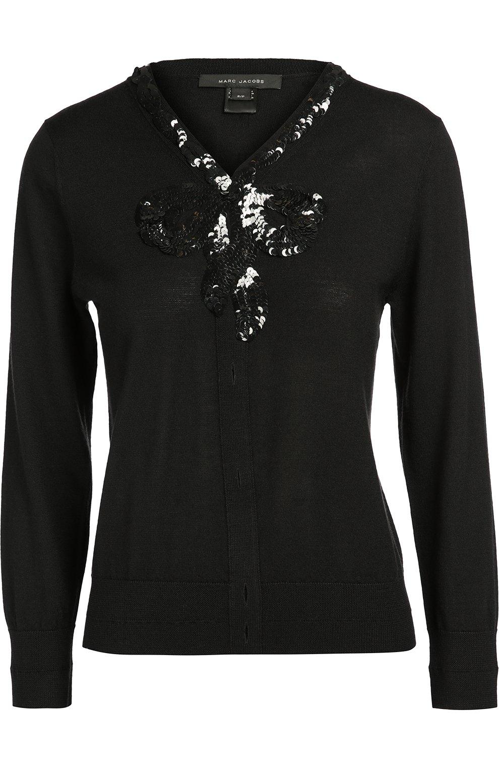 Черный пуловер с доставкой