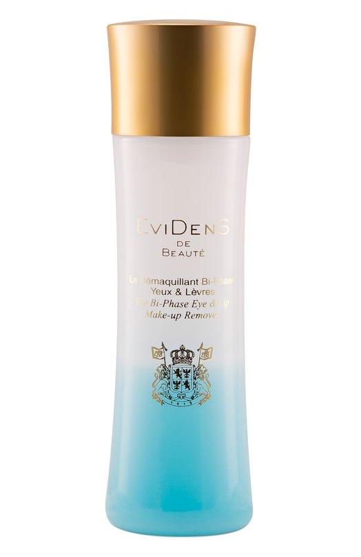 Двухфазное средство для удаления макияжа для кожи вокруг глаз и губ EviDenS de Beaute 4560358162233