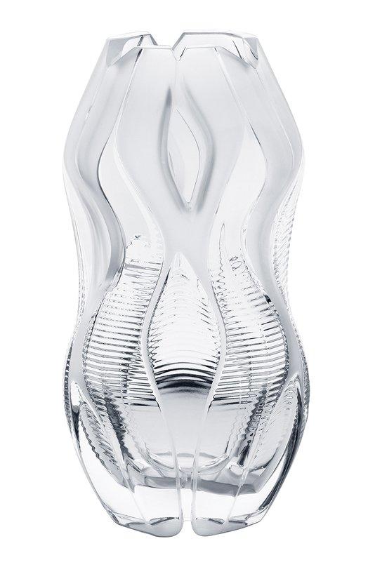 Ваза Manifesto LaliqueВазы<br>Созданная Захой Хадид ваза Manifesto – это архитектурный шедевр в хрустале. Лимитированная серия ваз выпущена в двух версиях: в прозрачном хрустале, демонстрирующем игру света, и в черном хрустале, подчеркивающем таинственную глубину и многогранность этого современного произведения искусства.<br><br>Пол: Женский<br>Возраст: Взрослый<br>Размер производителя vendor: NS<br>Цвет: Прозрачный