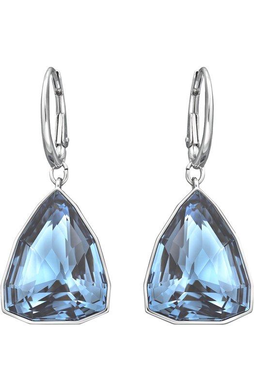 Серьги Virtuous SwarovskiСерьги<br>Серьги Virtuous созданы из металла с родиевым покрытием и синих кристаллов Denim Blue запатентованной треугольной огранки. Украшение с каплевидными подвесками вошло в осенне-зимнюю коллекцию 2016 года.<br><br>Пол: Женский<br>Возраст: Взрослый<br>Размер производителя vendor: NS<br>Материал: Металл с родиевым покрытием; Кристаллы Сваровски;<br>Цвет: Синий
