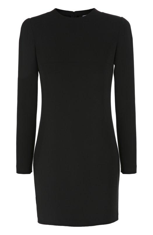 Облегающее мини-платье с длинным рукавом и круглым вырезом Dsquared2 S75CU0392/S41833