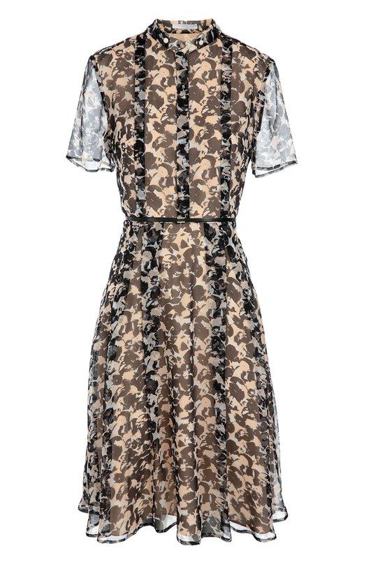 Приталенное платье-рубашка с воротником-стойкой BOSS 50318731