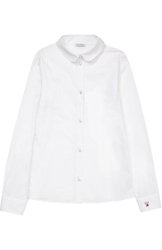 Блуза из эластичного хлопка Dolce & Gabbana 0131/L52S22/FUEAJ/8-12