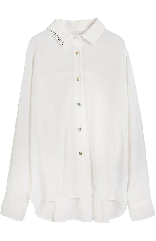Блуза из вискозы с декором Monnalisa 718301AE/8105/4-10
