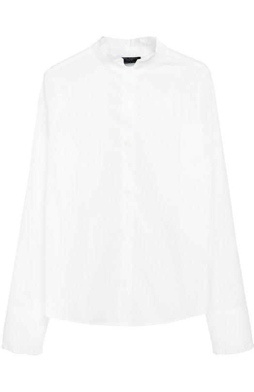 Хлопковая блуза с оборками Dal Lago R412/7628/7-12