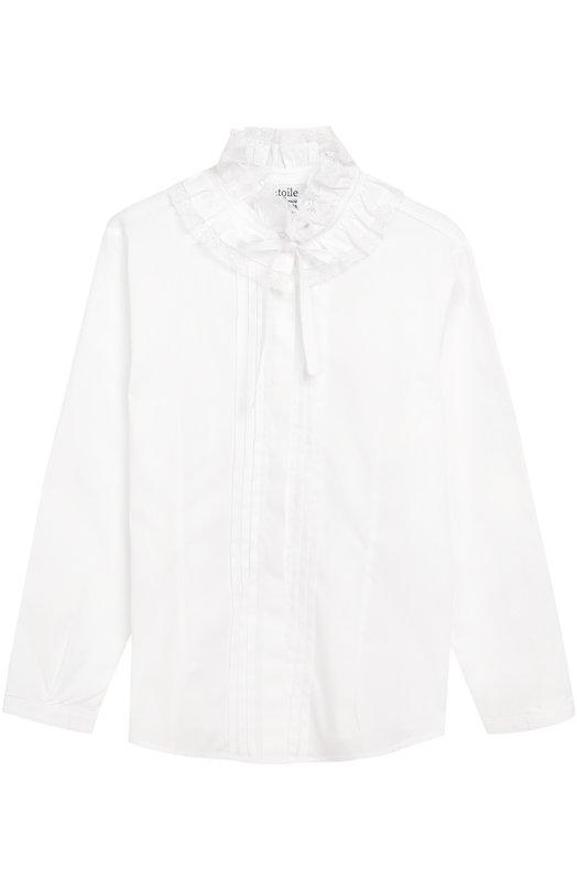 Блуза с декором из эластичного хлопка Aletta AC666264/3-8