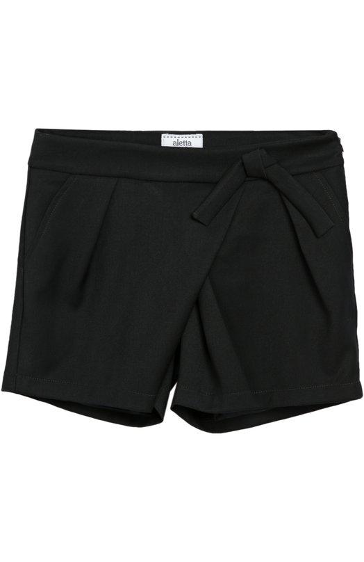 Ассиметричные шорты с декором Aletta AF555007N/9-16