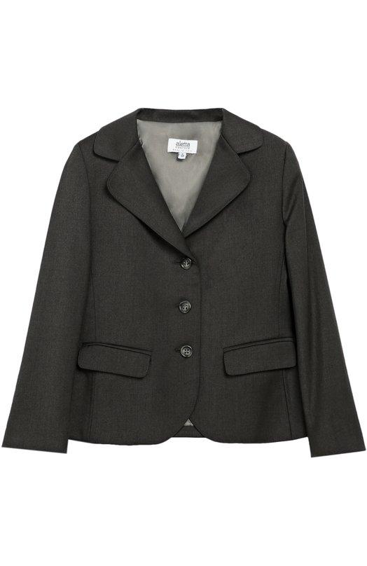 Однобортный пиджак на трех пуговицах Aletta AF666342N/3-8