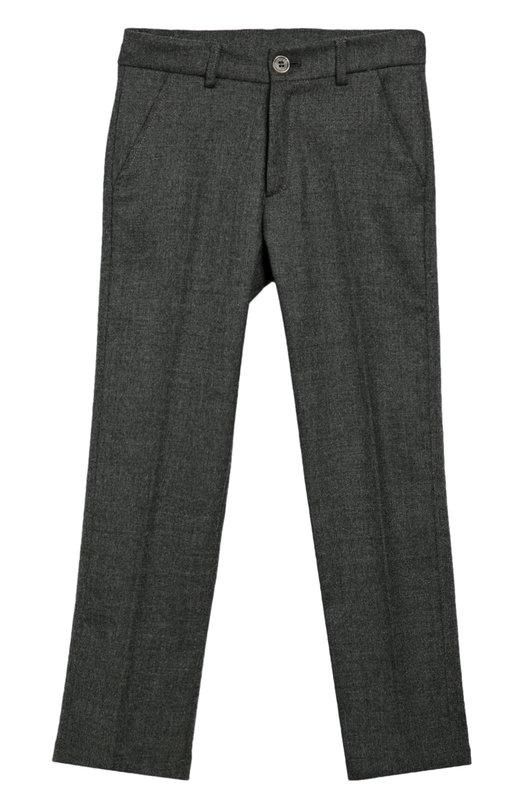 Шерстяные брюки прямого кроя Aletta AMV666291P/3-8