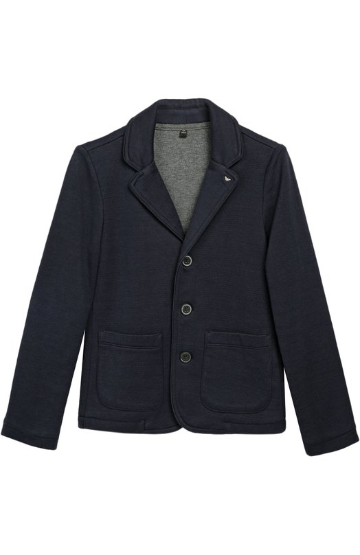 Однобортный пиджак джерси Giorgio Armani 6X4G06/4JBCZ/4A-10A