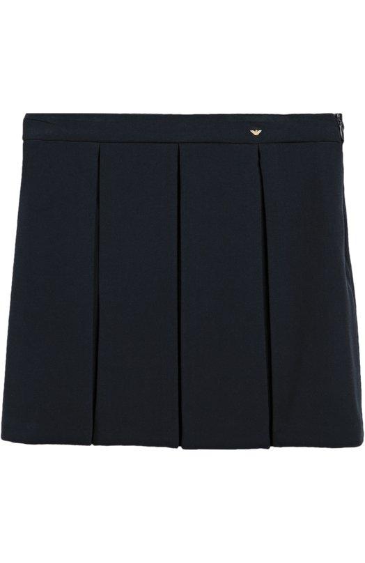 Прямая юбка со складками Giorgio Armani 6X3N01/3NBNZ/4A-10A