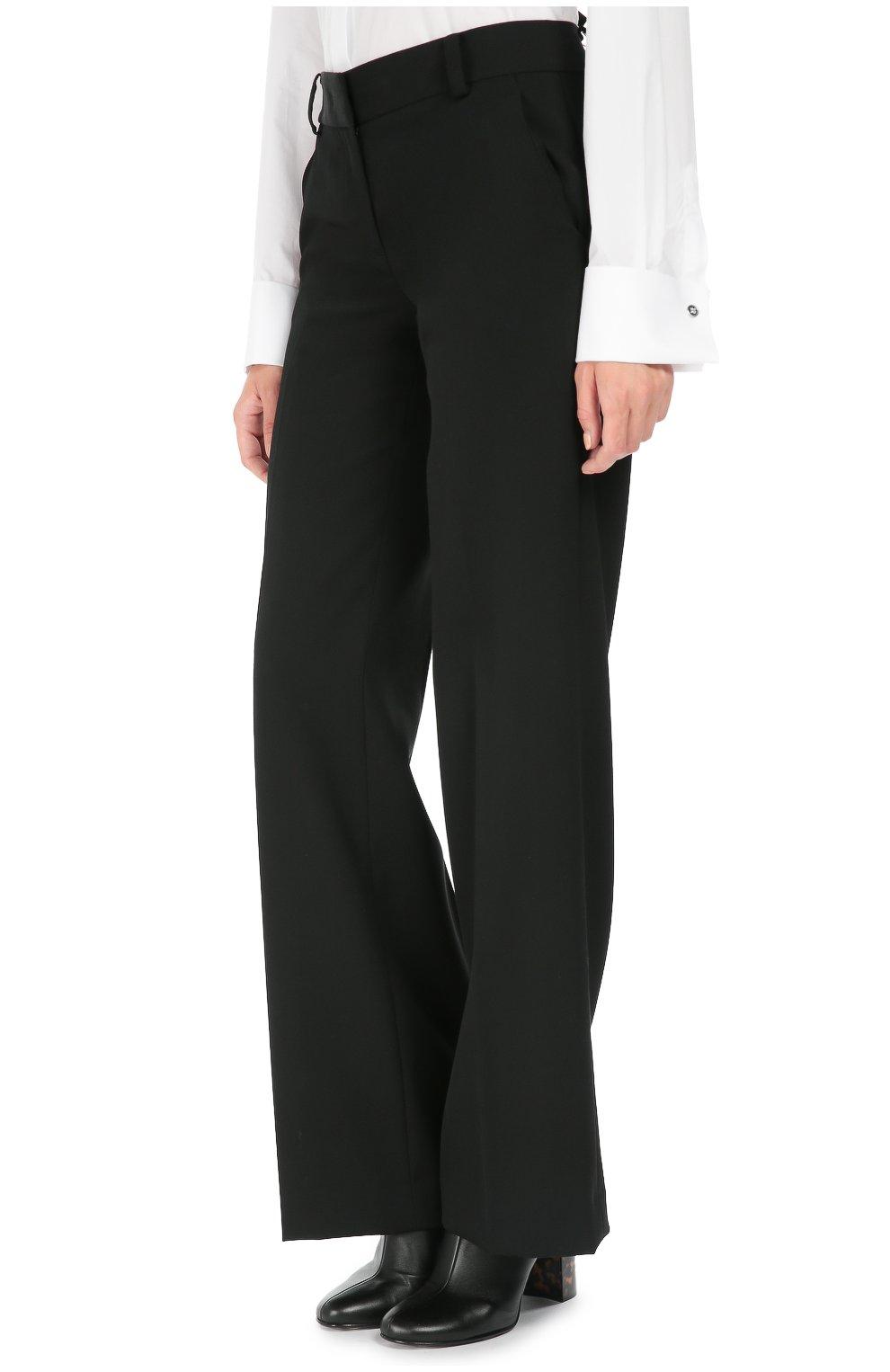 Широкие черные брюки с доставкой