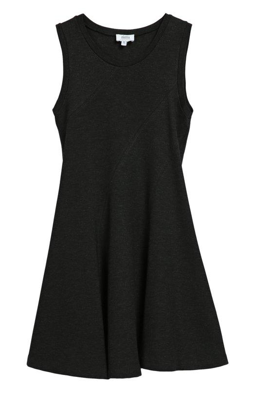 Платье джерси без рукавов AlettaПлатья<br>Платье с круглым вырезом вошло в коллекцию сезона осень-зима 2016 года. Мастера марки сшили приталенную модель без рукавов из мягкого серого текстиля. Рекомендуем использовать как основу школьного образа.<br><br>Размер Years: 14<br>Пол: Женский<br>Возраст: Детский<br>Размер производителя vendor: 158cm<br>Материал: Вискоза: 70%; Эластан: 4%; Полиамид: 26%;<br>Цвет: Серый