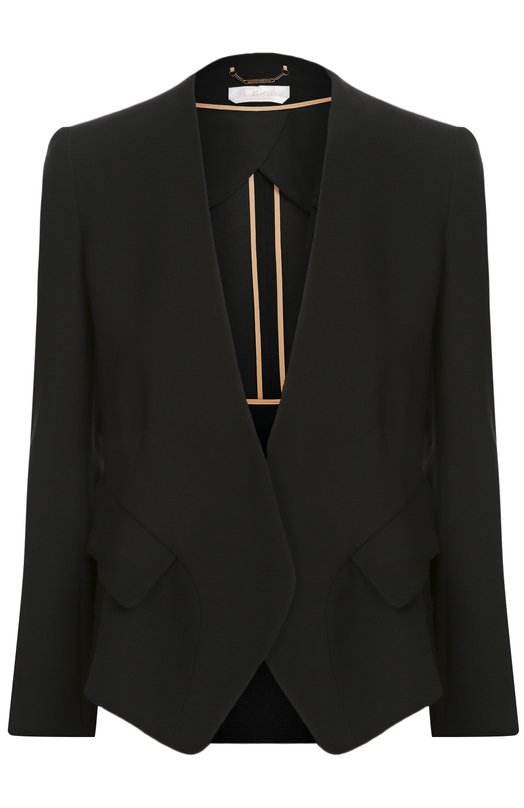 Приталенный жакет с карманами Chloe 16AVE22/16A038