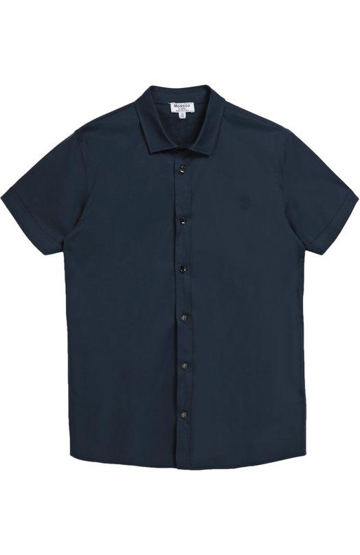 Хлопковая рубашка с короткими рукавами Aletta AMV666285MC/9-16