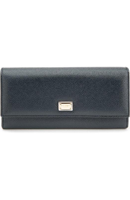 Кожаный кошелек с тиснением Dauphine Dolce & Gabbana 0116/BI0087/A1001