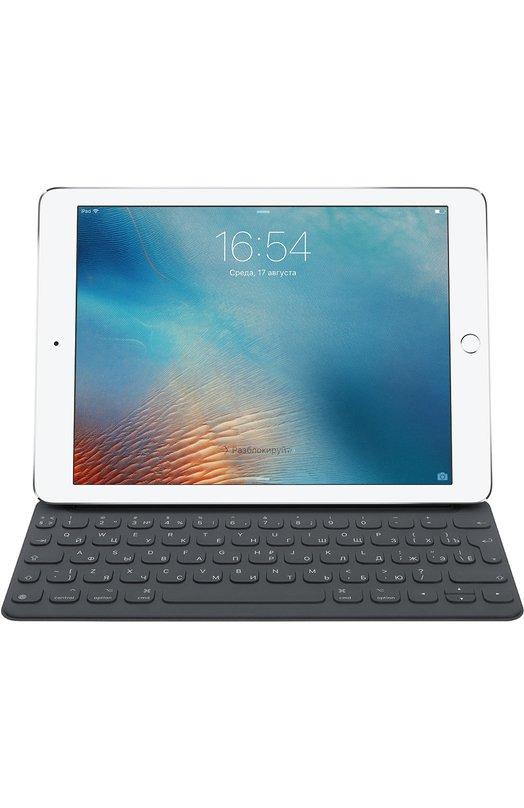 Клавиатура Smart Keyboard для iPad Pro 9.7 RUS AppleАксессуары<br><br><br>Пол: Женский<br>Возраст: Взрослый<br>Размер производителя vendor: NS<br>Цвет: Серый