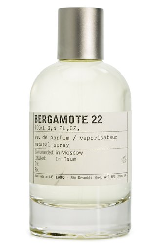 Парфюмерная вода Bergamote 22 Le Labo #color# | Фото №1