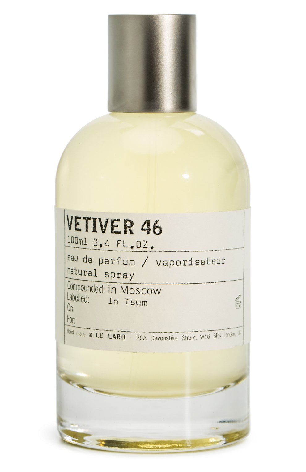 Парфюмерная вода Vetiver 46 Le Labo | Фото №1