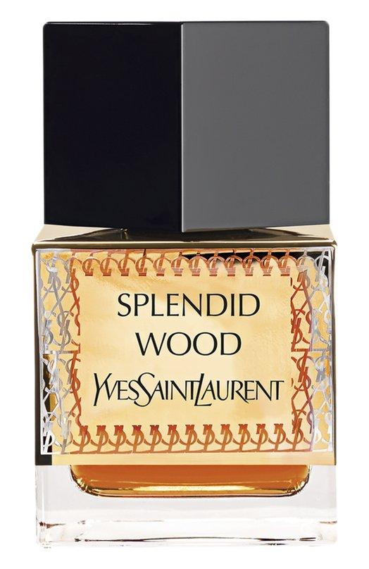 Парфюмерная вода Splendid Wood YSLУнисекс<br>Древесные ноты в сочетании с аккордами нежного жасмина, кардамона и ладана придают аромату восточный колорит и теплое звучание.<br><br>Объем мл: 80<br>Пол: Женский<br>Возраст: Взрослый<br>Цвет: Бесцветный