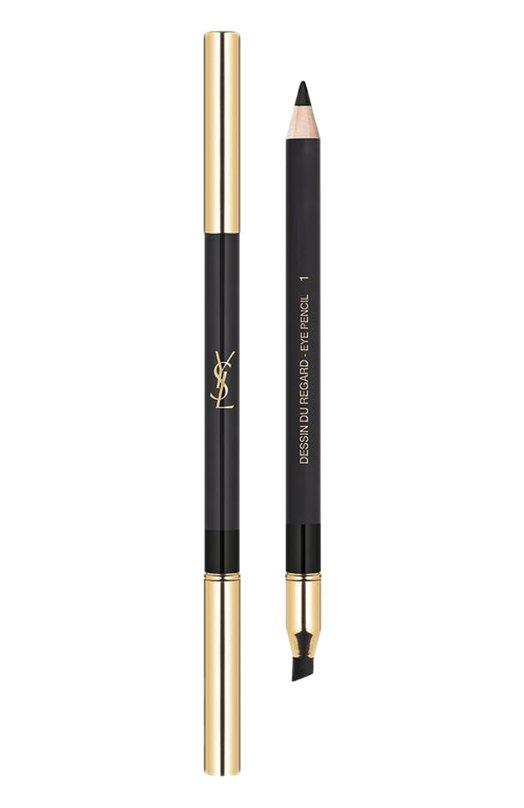 Водостойкий карандаш для глаз Dessin Du Regard, 01 Noir Volage YSL 3614271269171