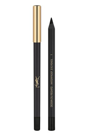 Карандаш для глаз Dessin Du Regard Waterproof, 01 Noir Effronte YSL #color# | Фото №1