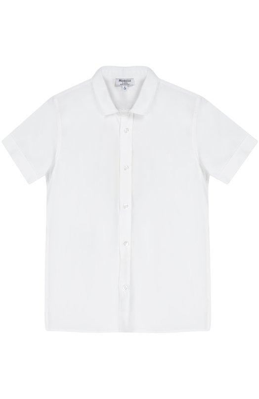 Хлопковая рубашка с коротким рукавом Aletta AMV666285MC/3-8