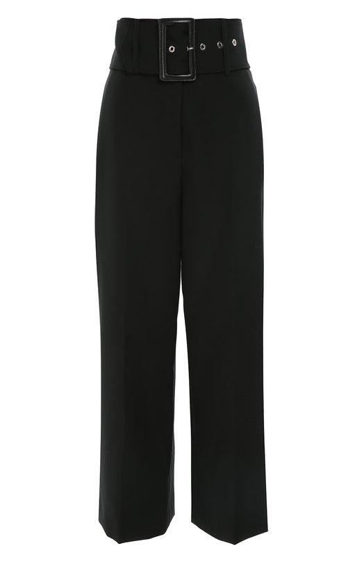 Укороченные брюки с завышенной талией и широким поясом Givenchy 16A/5036/130