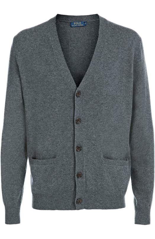 Шерстяной кардиган с карманами Polo Ralph Lauren A42/SCA11/W1P51