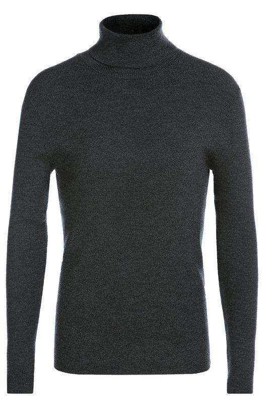 Водолазка из шерсти тонкой вязки Polo Ralph LaurenСвитеры<br>Темно-серая водолазка с длинными рукавами изготовлена из тонкой пряжи на основе мягкой шерсти итальянский овец меринос. Ральф Лорен включил модель в коллекцию сезона осень-зима 2016 года. Советуем носить с черными курткой, кедами и брюками в тон.<br><br>Российский размер RU: 52<br>Пол: Мужской<br>Возраст: Взрослый<br>Размер производителя vendor: XL<br>Материал: Шерсть: 94%; Полиэстер: 6%;<br>Цвет: Темно-серый