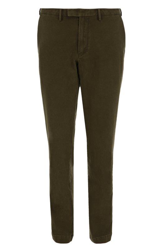 Хлопковые брюки прямого кроя Polo Ralph Lauren A20/PE07C/BR417