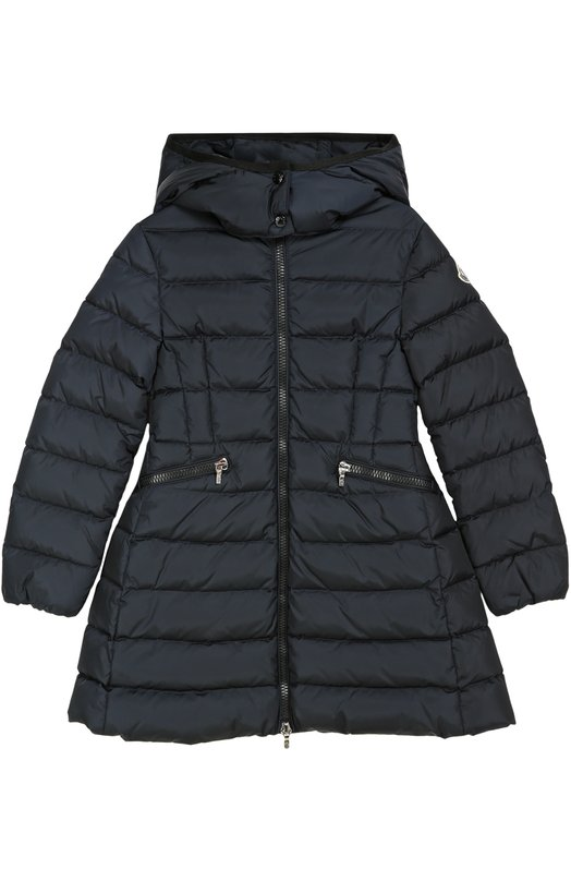 Пуховое пальто с капюшоном Moncler Enfant B2-954-49369-05-54155/4-6