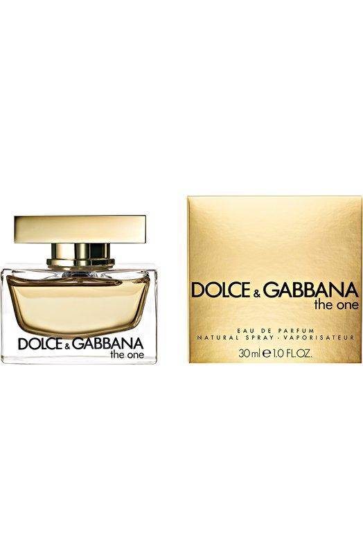 Парфюмерная вода The One Dolce &amp; GabbanaАроматы для женщин<br><br><br>Объем мл: 30<br>Пол: Женский<br>Возраст: Взрослый<br>Цвет: Бесцветный