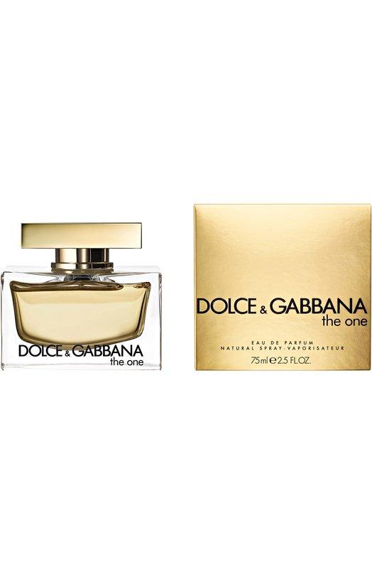 Купить Парфюмерная вода The One Dolce & Gabbana, 737052020792, Италия, Бесцветный
