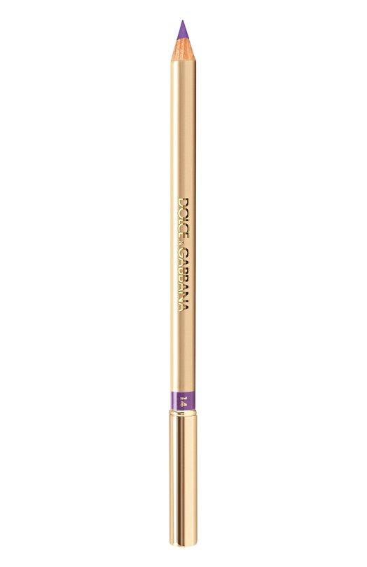 Подводка для глаз, оттенок 14 lilac Dolce &amp; GabbanaПодводки для глаз<br><br><br>Объем мл: 0<br>Пол: Женский<br>Возраст: Взрослый<br>Цвет: Бесцветный
