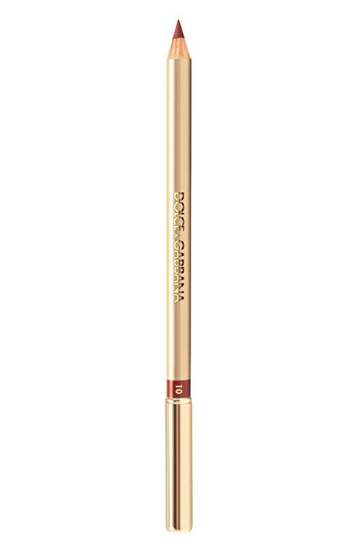 Карандаш для губ, оттенок 10 Caramello Dolce &amp; GabbanaКарандаши для губ<br><br><br>Объем мл: 0<br>Пол: Женский<br>Возраст: Взрослый<br>Цвет: Бесцветный