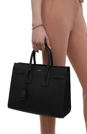 Сумка Sac De Jour Small Saint Laurent синяя | Фото №14