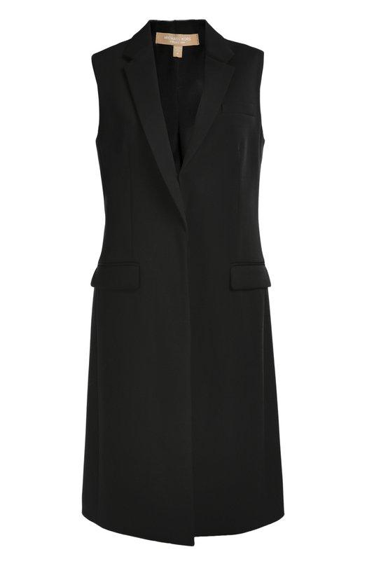 Удлиненный шерстяной жилет Michael Kors KPH501A/KH003A