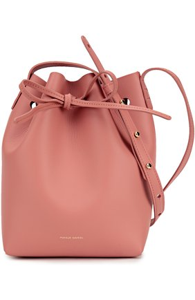Сумка Mini Bucket Mansur Gavriel белая | Фото №1