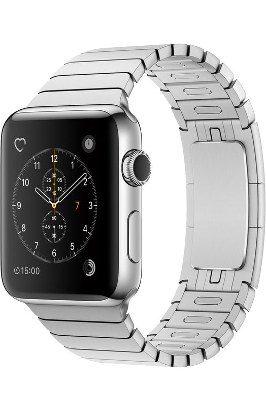 Apple Watch Series 2 42mm Silver Stainless Steel Case with Link Bracelet