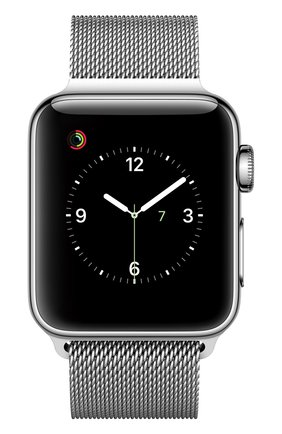 Apple Watch Series 2 38mm Silver Stainless Steel Case with Milanese Loop Apple #color# | Фото №1