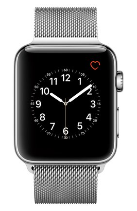 Apple Watch Series 2 42mm Silver Stainless Steel Case with Milanese Loop Apple #color# | Фото №1
