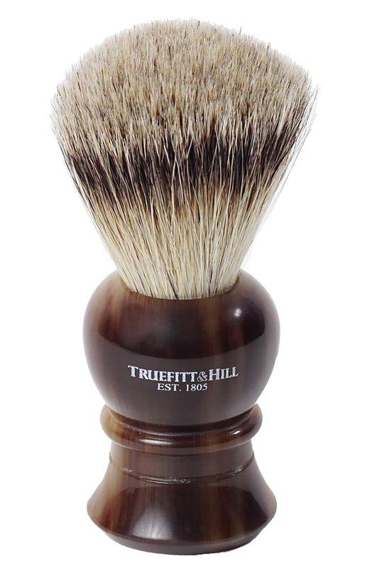 Купить Помазок, Шерсть барсука / Рог с серебром / Regency Truefitt&Hill, 181, Великобритания, Бесцветный