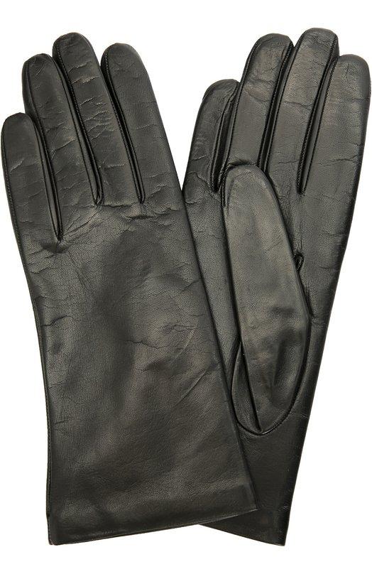 Кожаные перчатки с подкладкой из кашемира Sermoneta Gloves SG12/304/2BT/NAPPA/CASH