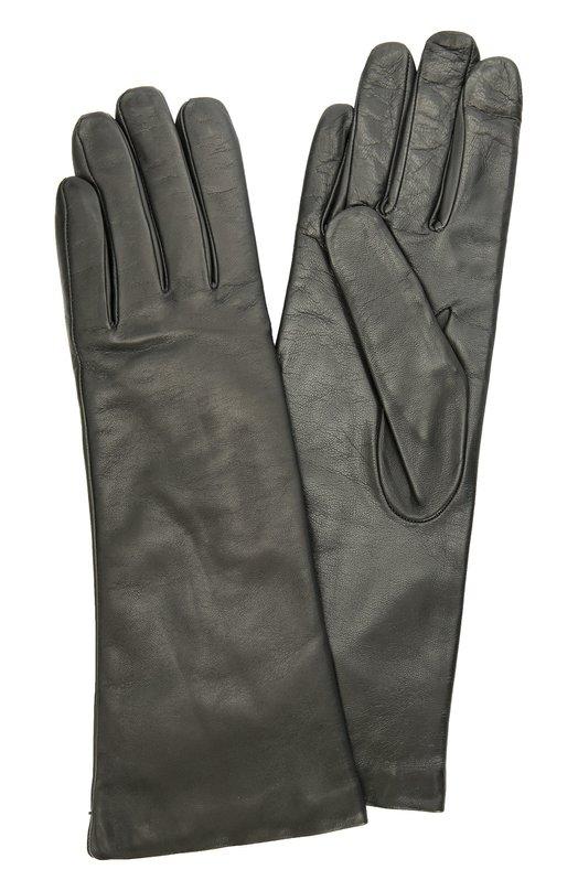 Кожаные перчатки с подкладкой из кашемира Sermoneta GlovesПерчатки<br>Удлиненные перчатки темно-серого цвета вошли в осенне-зимнюю коллекцию бренда, основанного Джорджио Сермонета. Модель из ультрамягкой гладкой кожи, выделанной вручную, дополнена тонкой подкладкой из кашемира.<br><br>Российский размер RU: 8<br>Пол: Женский<br>Возраст: Взрослый<br>Размер производителя vendor: 8<br>Материал: Кожа натуральная: 100%; Подкладка-кашемир: 100%;<br>Цвет: Темно-серый