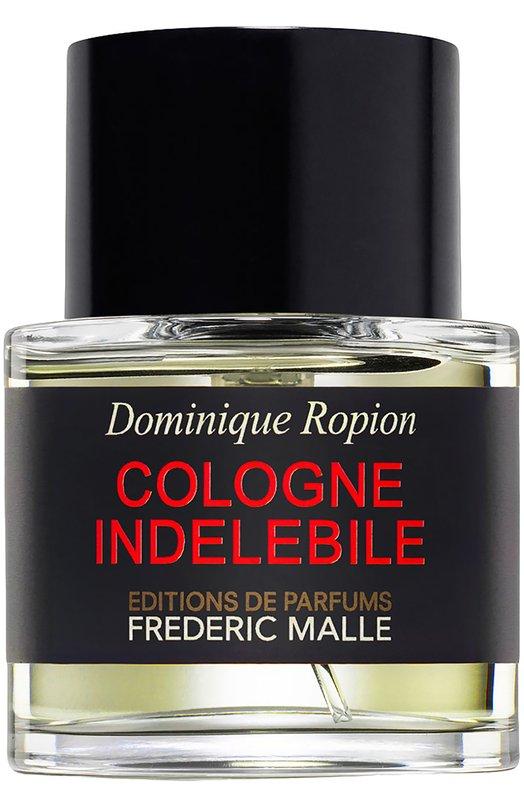 Купить Парфюмерная вода Cologne Indelebile Frederic Malle, 3700135005242, Франция, Бесцветный