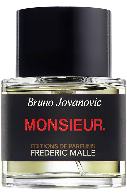 Парфюмерная вода Monsieur Frederic MalleАроматы для мужчин<br><br><br>Объем мл: 50<br>Пол: Женский<br>Возраст: Взрослый<br>Цвет: Бесцветный
